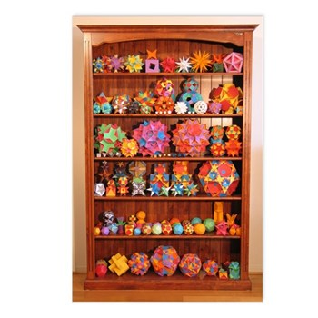 Polyhedron Bookcase Postcards (pack of 8)
