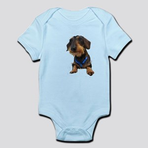 Wirehair Dachshund Infant Bodysuit