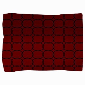 Majestic Red Pillow Sham