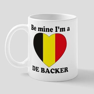De Backer, Valentine's Day  Mug