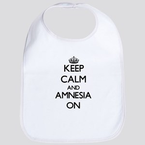 Keep Calm and Amnesia ON Bib