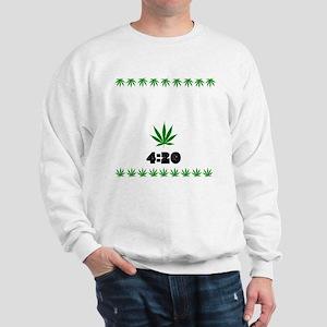 4:20 Weed Leaf shirt Sweatshirt