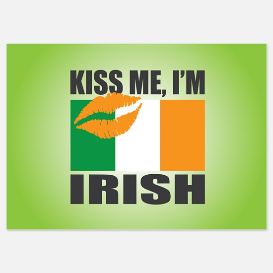Kiss Me I'm Irish Invitations