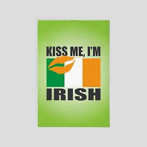 Kiss Me I'm Irish 4' x 6' Rug