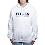 FITin56 Women's Hooded Sweatshirt