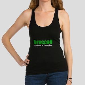 Broccoli Racerback Tank Top