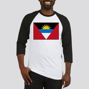 Antigua Barbuda Flag Baseball Jersey
