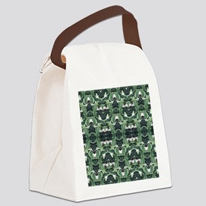 banana leaf Canvas Lunch Bag