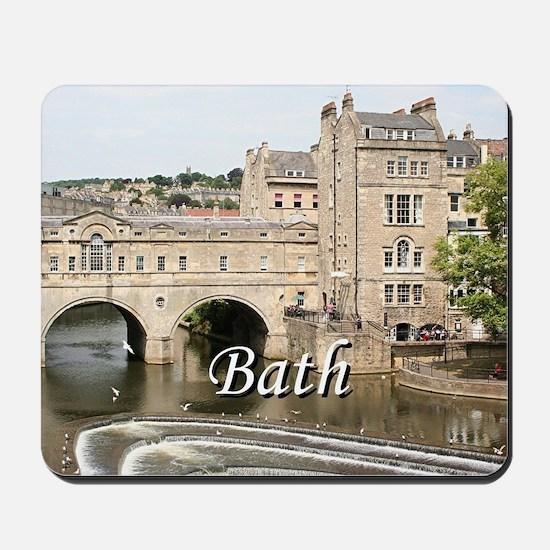 Pulteney Bridge, Avon River,Bath, Englan Mousepad