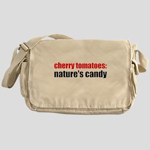 Cherry Tomatoes Messenger Bag