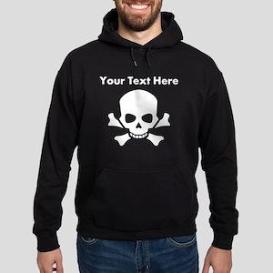 Custom Skull And Crossbones Hoodie