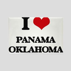 I love Panama Oklahoma Magnets