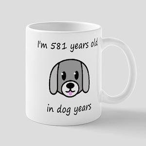 83 dog years 2 Mugs