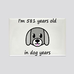 83 dog years 2 - 2 Magnets