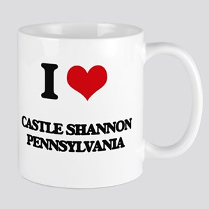 I love Castle Shannon Pennsylvania Mugs