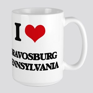 I love Dravosburg Pennsylvania Mugs