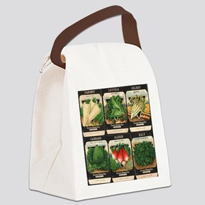 Vegetable Packets Six Canvas Lunch Bag