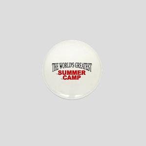 """The World's Greatest Summer Camp"" Mini Button"