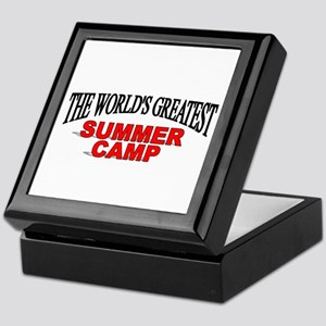 """The World's Greatest Summer Camp"" Keepsake Box"