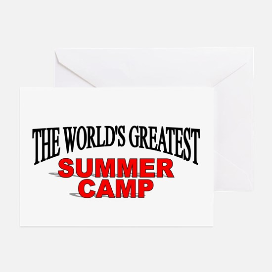 """""""The World's Greatest Summer Camp"""" Greeting Cards"""