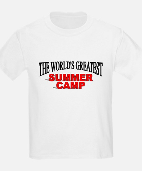 """""""The World's Greatest Summer Camp"""" T-Shirt"""