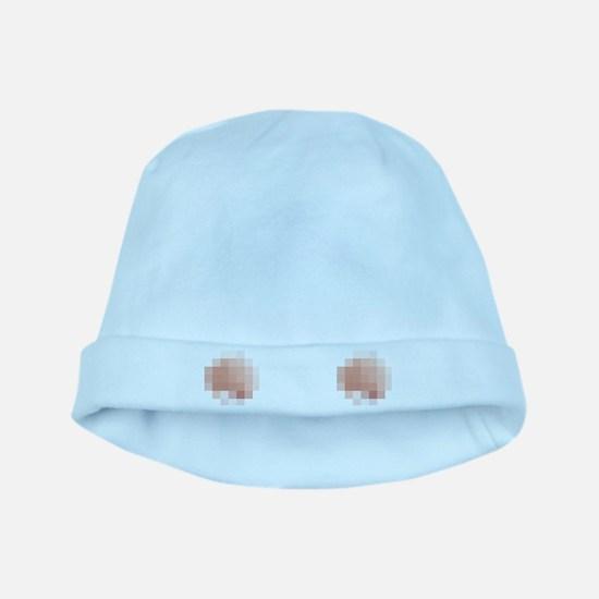 Censored baby hat