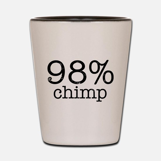 98% Chimp Shot Glass