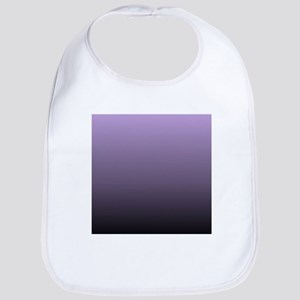 black purple ombre Bib