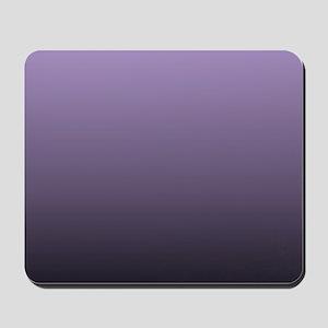 black purple ombre Mousepad