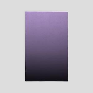 black purple ombre Area Rug