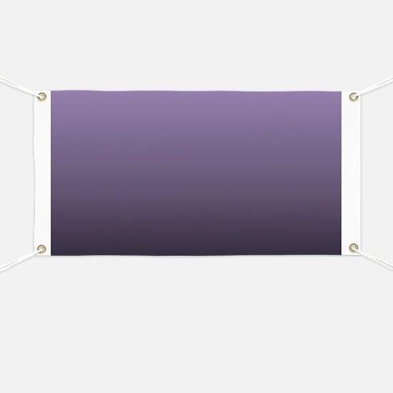 black purple ombre Banner