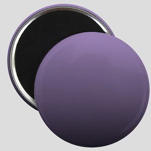 black purple ombre Magnets