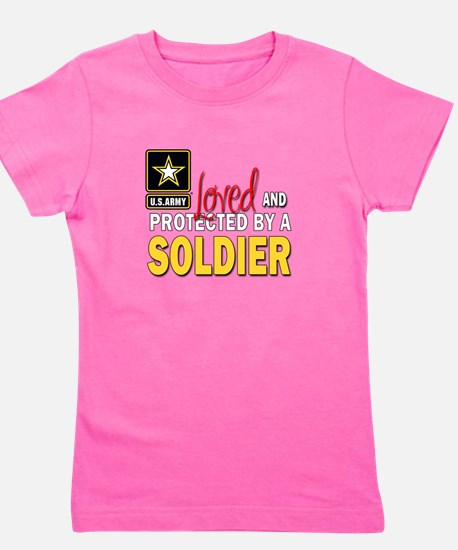 Unique Military girlfriend Girl's Tee