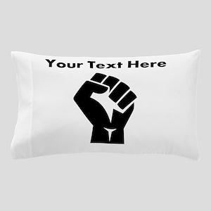 Custom Power Fist Pillow Case