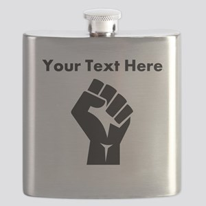 Custom Power Fist Flask
