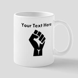 Custom Power Fist Mugs