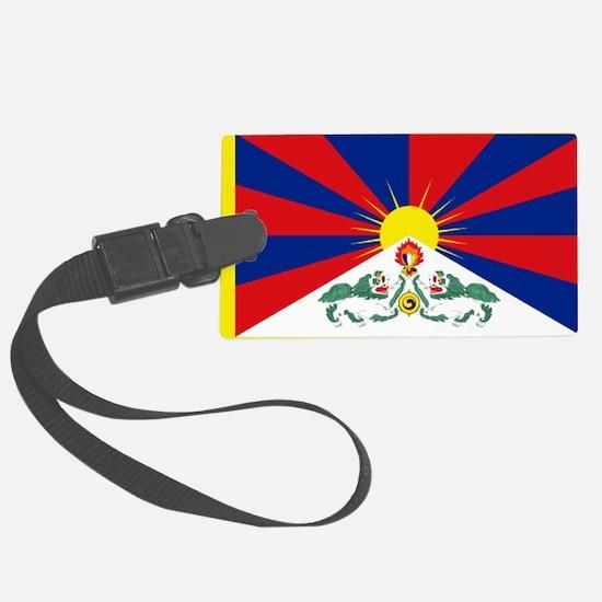 Tibet flag Luggage Tag