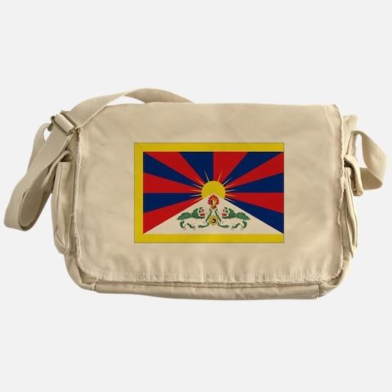 Tibet flag Messenger Bag