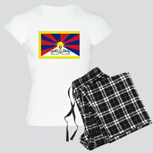 Tibet flag Women's Light Pajamas