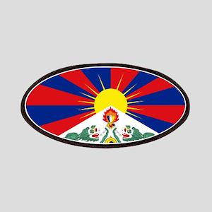 Tibet flag Patch