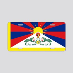 Tibet flag Aluminum License Plate