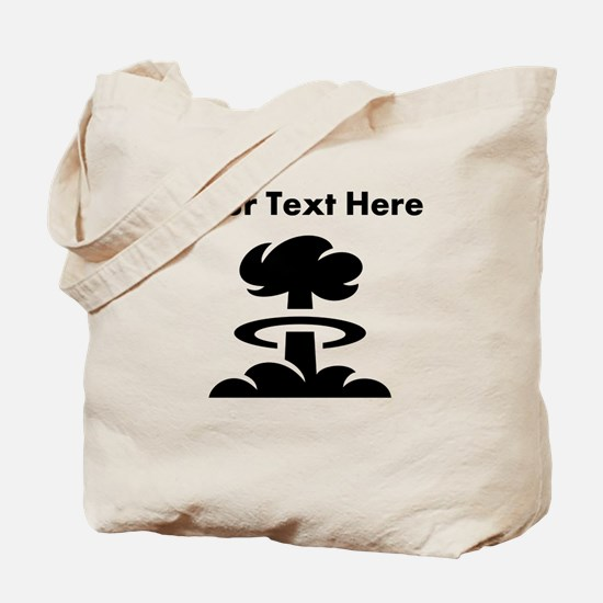 Custom Mushroom Cloud Tote Bag