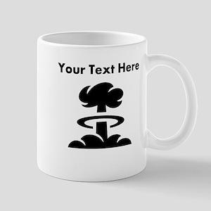 Custom Mushroom Cloud Mugs