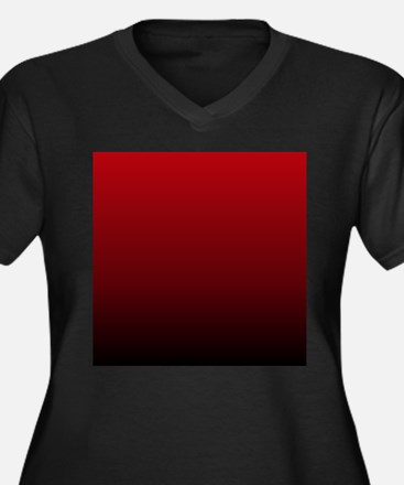 vampire red ombre Plus Size T-Shirt