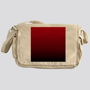 vampire red ombre Messenger Bag