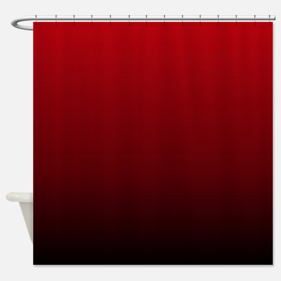 vampire red ombre Shower Curtain
