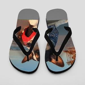 Lifeguard on Duty Flip Flops