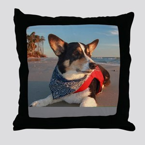 Lifeguard on Duty Throw Pillow