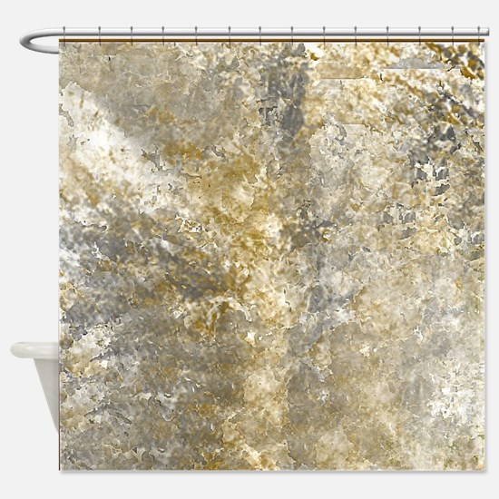 Stone Tile Shower Curtain
