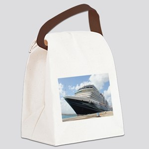 MS Nieuw Amsterdam Canvas Lunch Bag